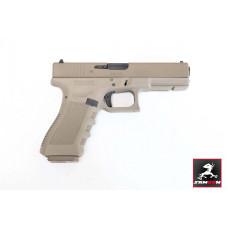 UMARE X GHK GLOCK 17 GEN 3 GBB Pistol Customized Cerakote version (Only For Asia)
