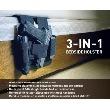 STINGER 3 IN 1 BEDSIDE HOLSTER, MATTRESS HOLSTER, BED HOLSTER