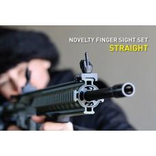 NOVELTY FINGER IRON SIGHT SET - STRAIGHT