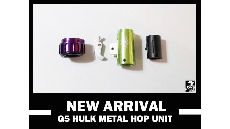 5 G5 hulk hop