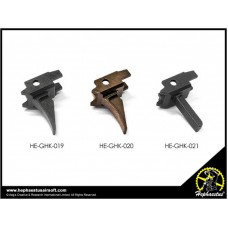 Hephaestus CNC Steel Trigger (Type A - Black) for GHK AK Series