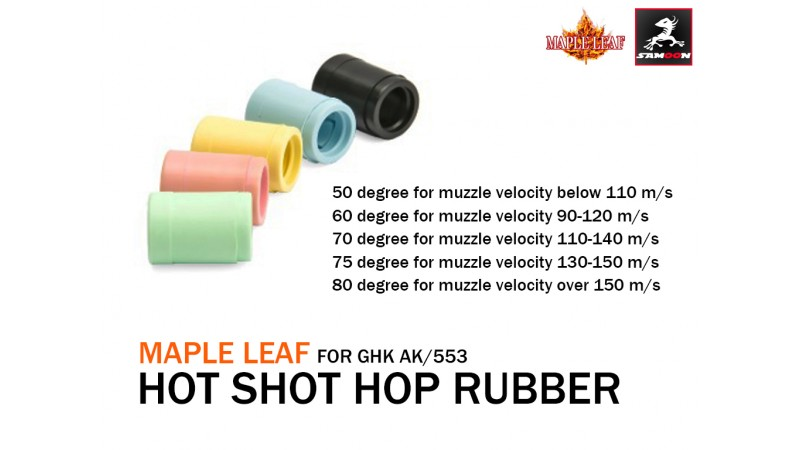 3 maple hot shot rubber