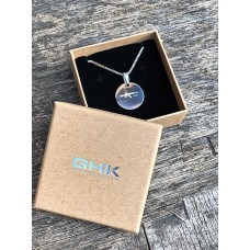GHK AKM 18 F/W Round Shape Necklace