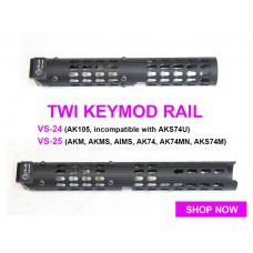 TWI Keymod Rail VS-24 / VS-25 for GHK AK Series