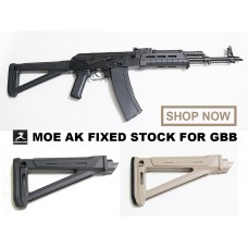 MOE AK Fixed Stock for GBB (Replica)