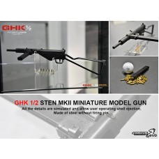 GHK 1/2 STEN MKII 45% Miniature Model Gun