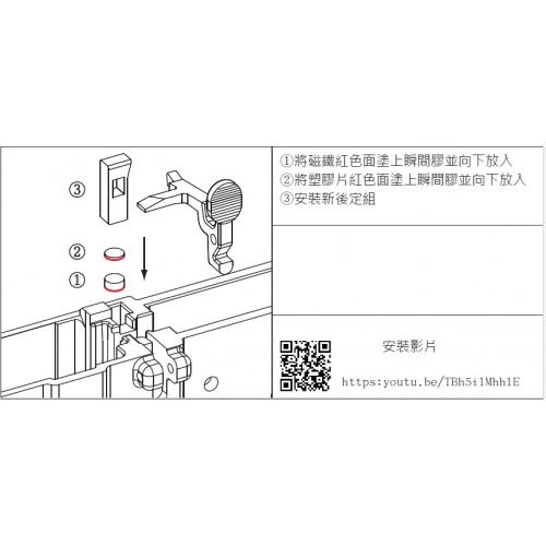 GHK M4 V2 Bolt Carrier & Magnetic Bolt Lock Kit