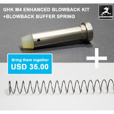 M4 Enhanced blowback kit + Blowback buffer spring