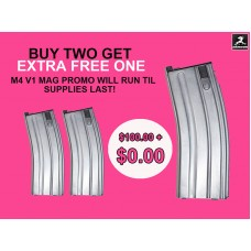 GHK M4 Gas magazine (ver 2014-2017) BUY TWO GET EXTRA ONE FOR FREE